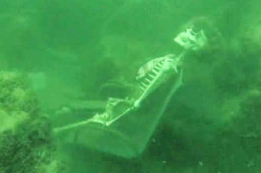 Underwater Skeleton