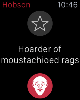 Hoarder of Moustachioed Rags