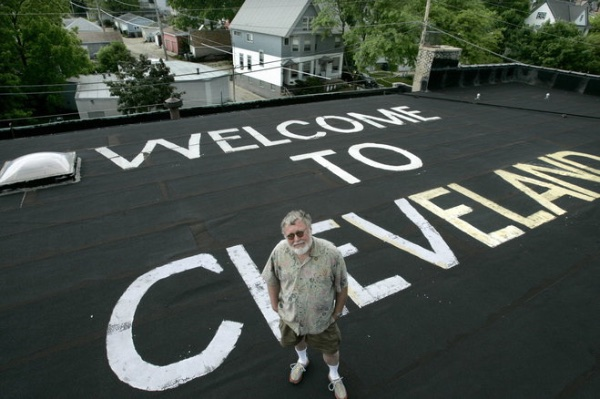 Welcome to Cleveland on a Milwaukee Roof