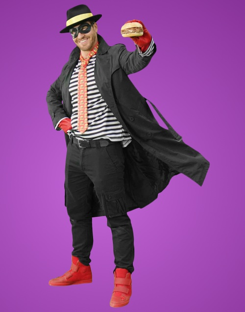 The Horrible New Hamburglar Posing Like A Total Jagoff