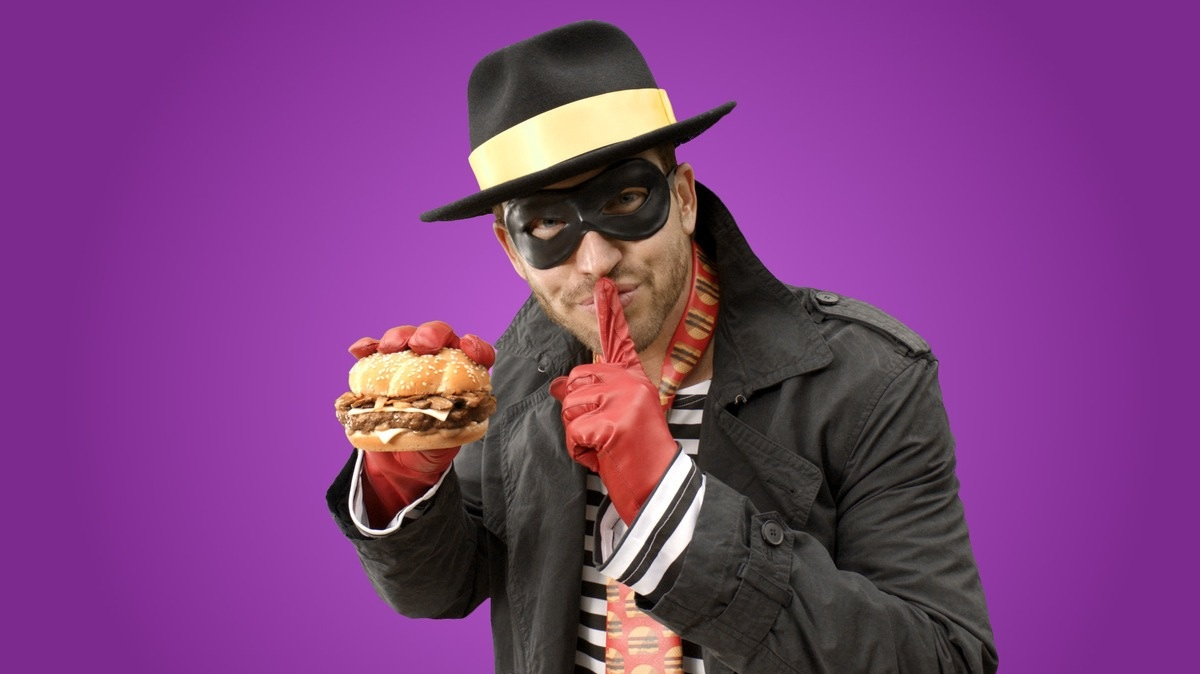 Horrible Hamburglar Shushing You