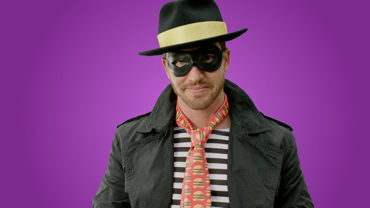 Horrible Hamburglar Staring