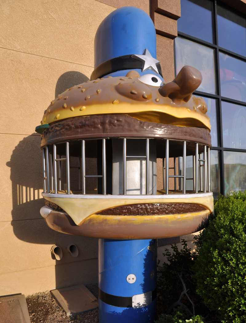 Officer Big Mac Jail