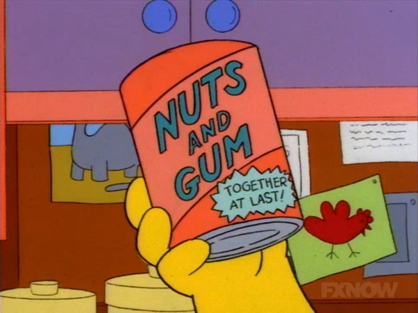 Nuts and Gum: Together at Last!