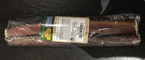 A package of Bully Sticks