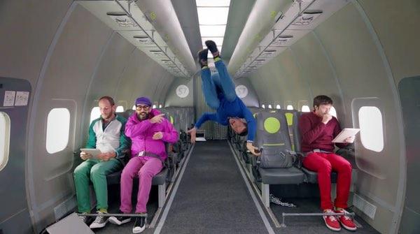 OK Go in Zero-G
