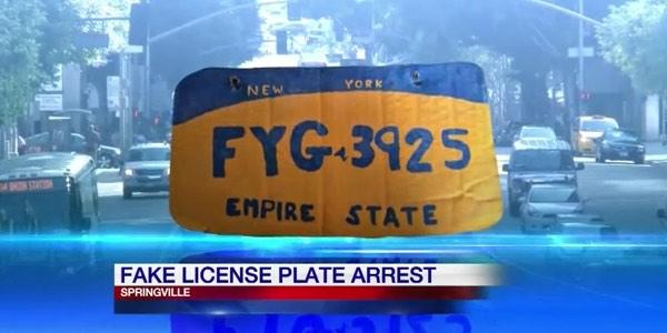 Fake Plate