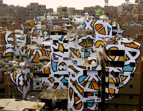 Masterful Cairo Graffiti