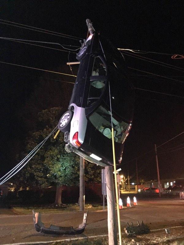 Car on Pole