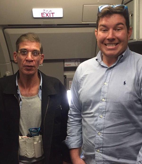 Ben Innes and hijacker