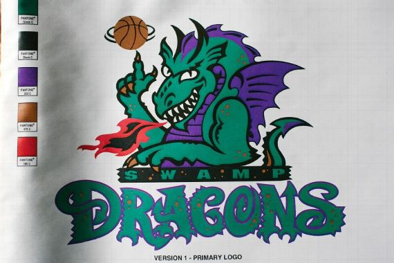 Swamp Dragons