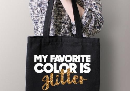 My favorite color is glitter/Hitler