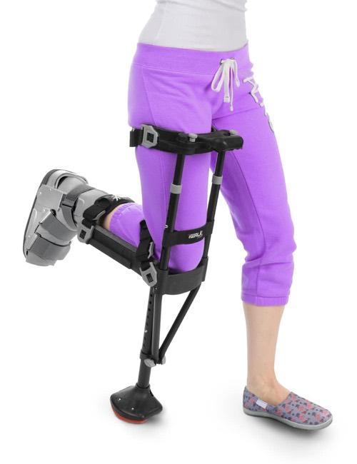 The iWalk crutch