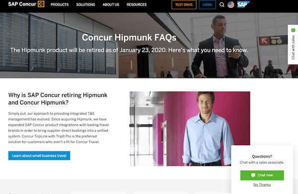 The new landing page for hipmunk.com
