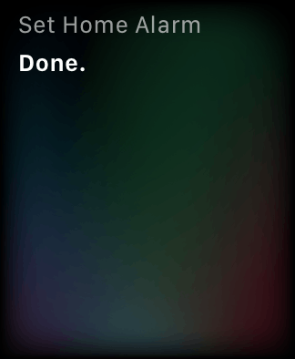Siri on the Apple Watch working exactly as it should