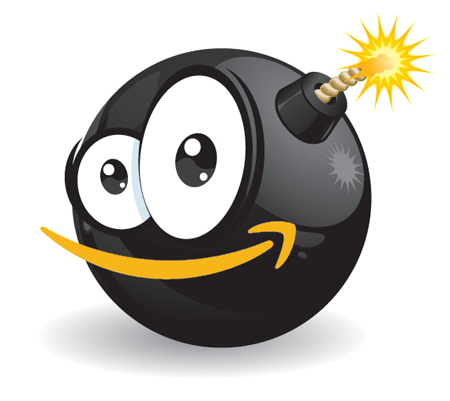 The Amazon Reviewbomb logo